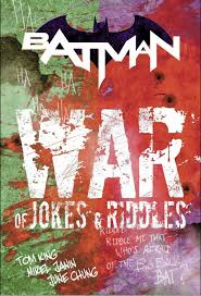 sneak peek tom king tweets art for u0027war of jokes and riddles