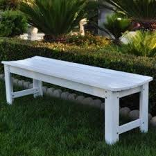 Bench Outdoor Furniture Outdoor Backless Benches Foter