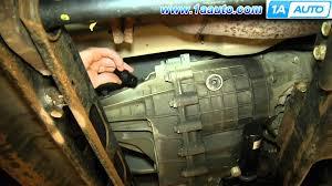 how to install speed sensor 4wd silverado sierra suburban yukon