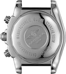 breitling black friday ab011011 b967 breitling chronomat 44 mens black dial leather strap