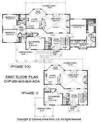 house plans with 5 bedrooms build in stages 2 story house plan bs 1613 2621 ad sq ft 2 story