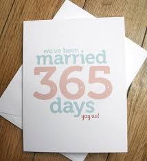 1st wedding anniversary ideas wedding anniversary card somat else