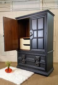 Black Armoire Black Armoire Thomasville Dresser Chest Wardrobe By
