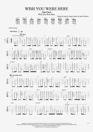 Pink Floyd Comfortably Numb Lyrics And Chords Wish You Were Here Pink Floyd Tablature On The Walls
