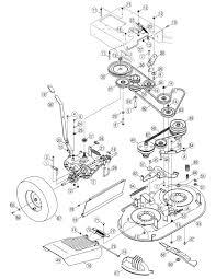 cub cadet mower deck parts diagram automotive parts diagram images