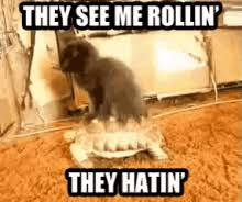 They See Me Rollin They Hatin Meme - they see me rollin gifs tenor