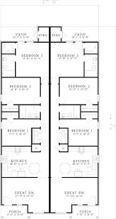 duplex house plans for narrow lots zijiapin
