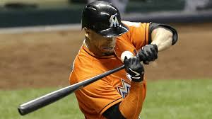 giancarlo stanton marlins jpg marlins giancarlo stanton suffers broken face when hit by pitch