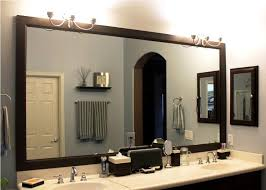 framing bathroom wall mirror how to create bathroom wall mirrors framing mirror ideas for your