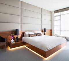 platform bed with led lights 9 exles of beds with hidden lighting underneath contemporist