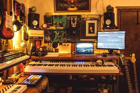 Corner Studio Desk Home Recording Studio Desk Home Furniture Decoration
