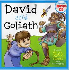 david and goliath bible book includes 20 tracks with read