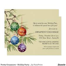 Christmas Ornament Party Invitations - 967 best christmas party invitations images on pinterest