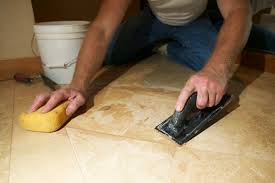 Installing Travertine Tile with How To Lay Travertine Or Marble Tile Without Grouting Hunker