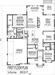 Floor Plan Of Bungalow Best 3 Bedroom Bungalow House Floor Plans Designs Single Story