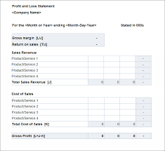 Profit And Loss Spreadsheet Template by Awe Inspiring Income Statement Profit And Loss Worksheet Template
