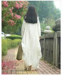 womens loose fitting long sleeve cotton linen long dresses maxi