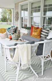 Fall Patio Rustic Fall Front Porch City Farmhouse