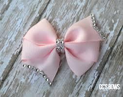 hair bows for pinwheel boutique hair bows set 3 rhinestones bling