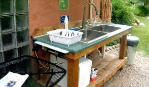 outdoor kitchen sink faucet outdoor sinks outdoor sinks and faucet awesome outdoor kitchen
