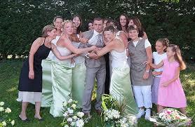 photo de groupe mariage photographe de mariage en isère un groupe agité reflex photos