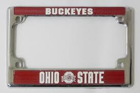 ohio alumni license plate frame welcome to buckeyelicenseframes your online source for