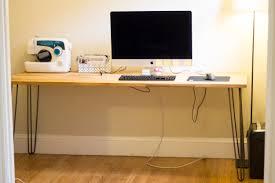Ikea Diy Desk Simple Diy Desk Handful Of
