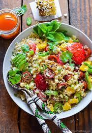 cuisine quinoa corn quinoa salad recipe chefdehome com