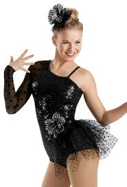 sequin polka dot bustle leotard weissman costumes just dance