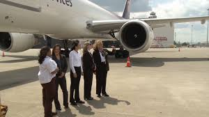 first all female crew to fly ups plane at thunder whas11 com