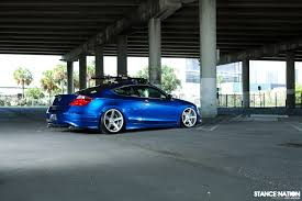 stanced honda stancenation feature new feature with vossen cv3 u0027s