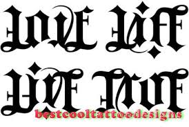 ambigram tattoo designs best cool tattoo designs