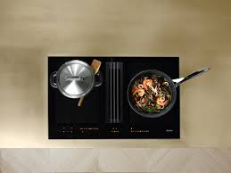 miele cuisine miele kmda7774fl cooktop black rdo kitchens appliances