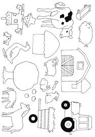 25 farm coloring pages ideas farm animal