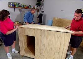 how to build a custom insulated dog house u2022 diy projects u0026 videos