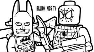 coloring pages lego spiderman coloring book lego batman activities