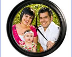 Personalized Clocks With Pictures Custom Clock