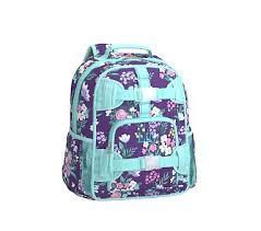 Pottery Barn Mackenzie Backpack Review Pre K Backpack Mackenzie Purple Flower Bouquets Backpacks