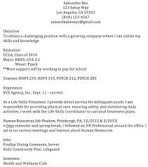 Samples Of Resume For Job Application by Professional Resume Templates For College Graduates