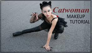 catwoman makeup tutorial 萬聖節化妝 sherry w youtube