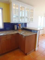 granite countertop cabinet doors only backsplash dark cabinets