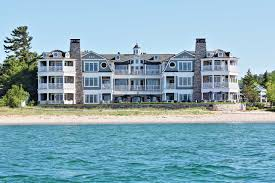 lebear resort luxury beachfront living in glen arbor michigan