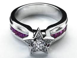 rings star images Purple diamond ring unique 77 best star rings images on jpg