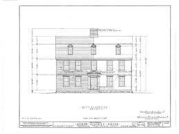 New England Homes Floor Plans Gambrel Roofed Colonial New England House Plans Wood Framed Home