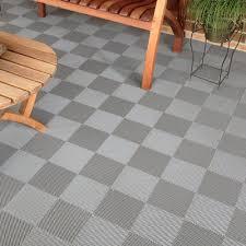 blocktile deck and patio flooring interlocking perforated tiles