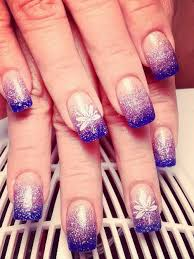 purple glitter acrylic nails art acrylic nails pinterest