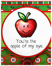 paperesse you re the apple of my eye for s day