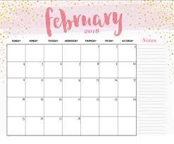 free printable 2018 desk calendar calendar 2018 for cute printable calendar february 2018 2091
