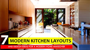 kitchen cabinet design layout 7 most popular kitchen layouts and floor plan design ideas for a modern home makeover
