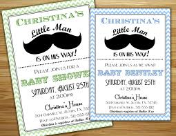 mustache invitations boy baby shower invitation invite personalized diy printable